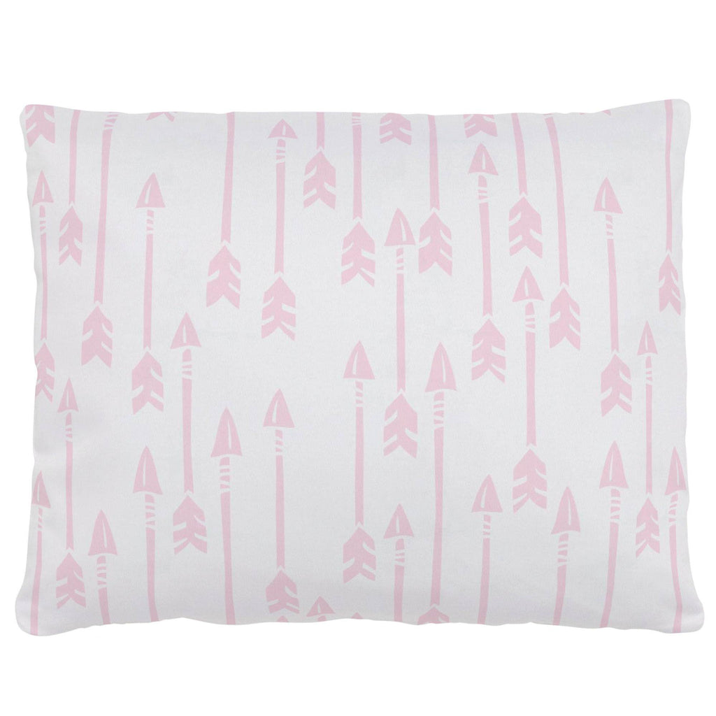 Product image for Pink Flying Arrow Accent Pillow