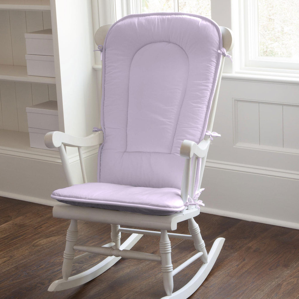 Product image for Solid Lilac Rocking Chair Pad