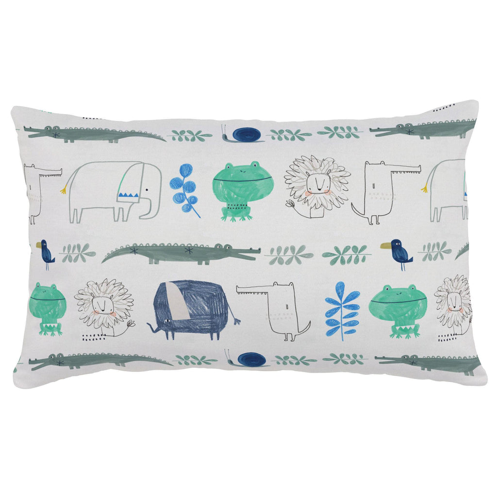 Product image for Safari Friends Lumbar Pillow
