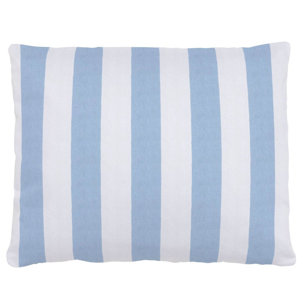 Product image for Blue Giddy Stripe Accent Pillow