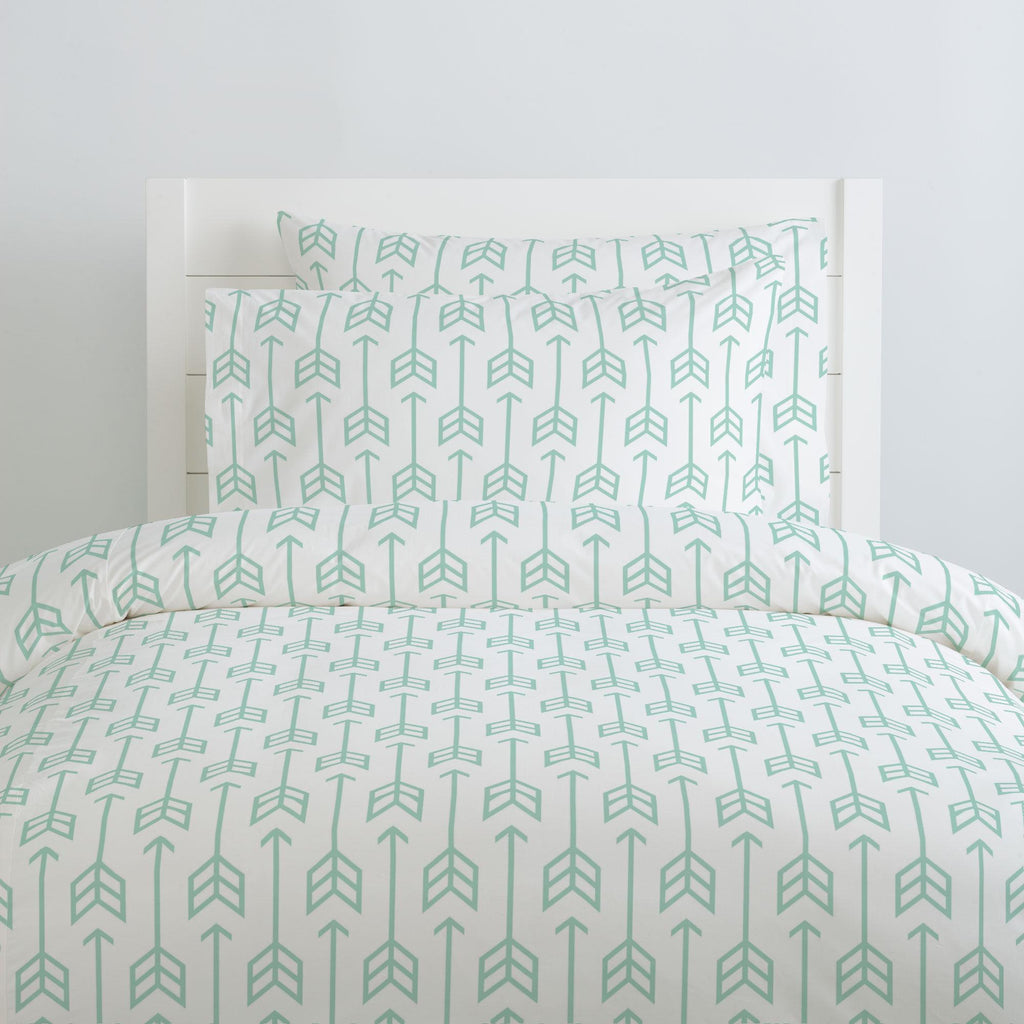 Product image for Mint Arrow Duvet Cover