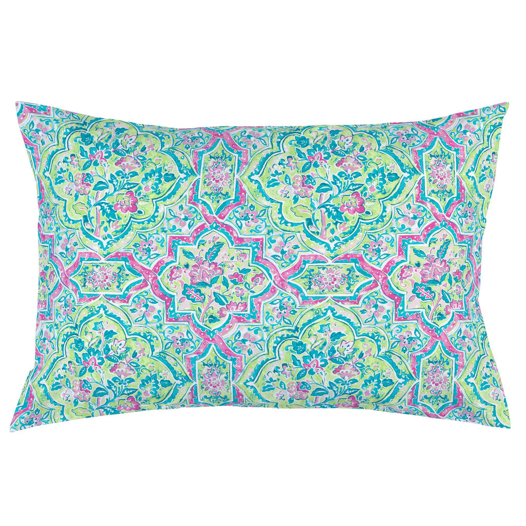 Product image for Pink Watercolor Medallion Pillow Case