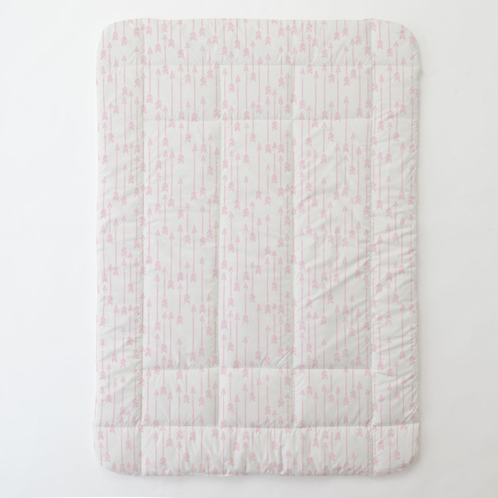 Product image for Pink Flying Arrow Toddler Comforter