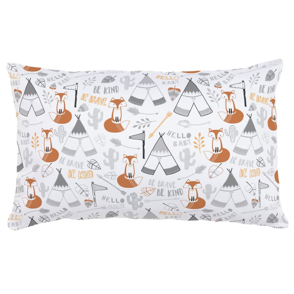 Product image for Brave Fox Lumbar Pillow