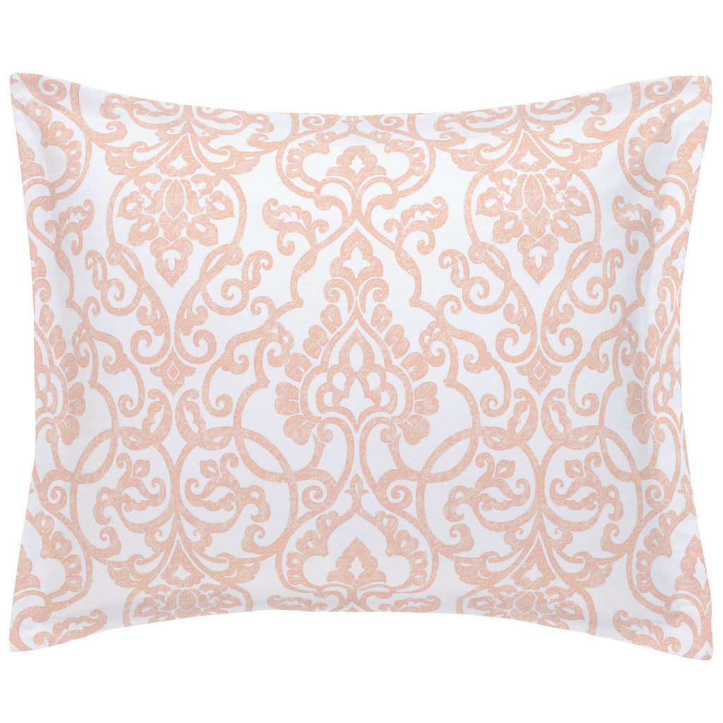 Product image for Peach Filigree Pillow Sham
