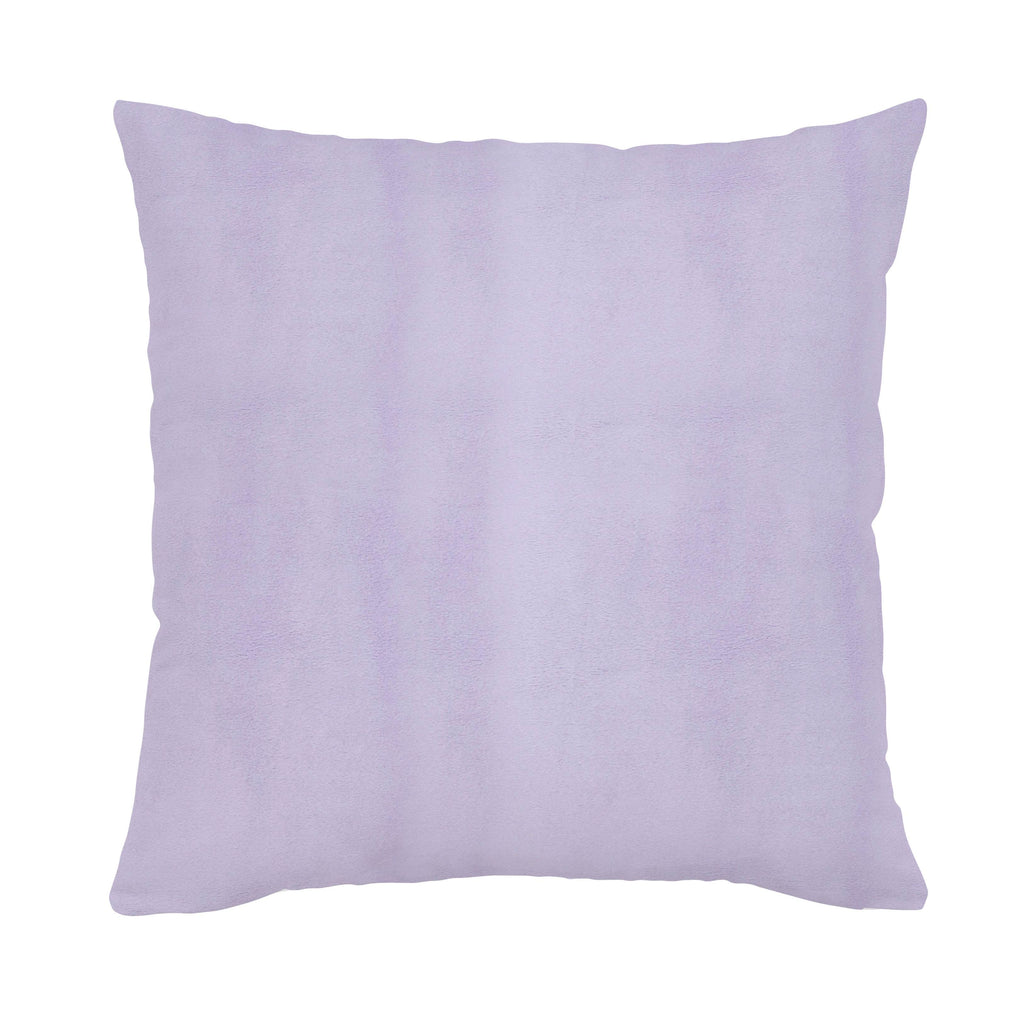 Product image for Solid Lilac Minky Throw Pillow