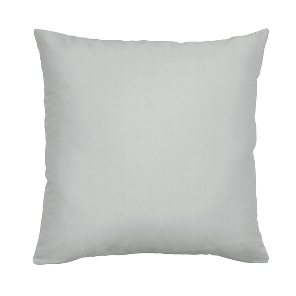 Product image for Silver Gray Minky Throw Pillow