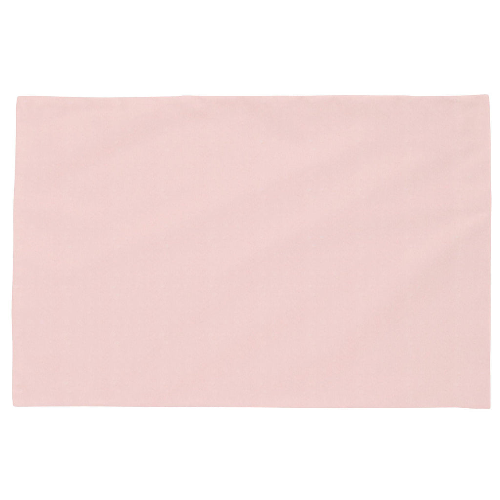 Product image for Solid Pink Minky Toddler Pillow Case