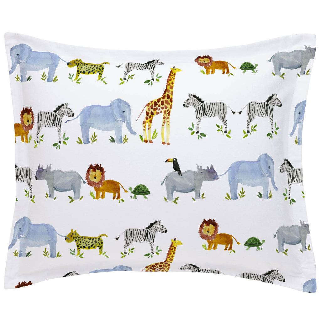 Product image for Painted Zoo Pillow Sham