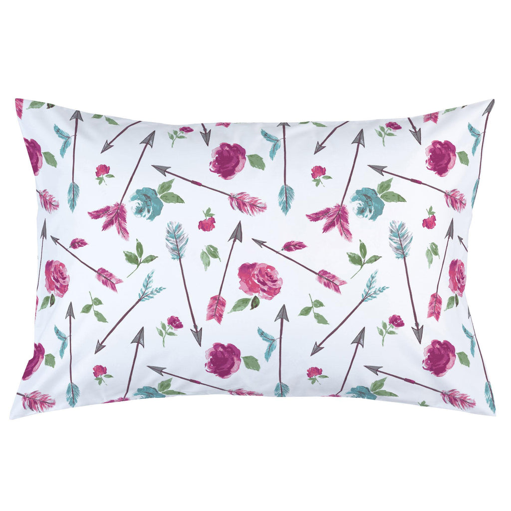 Product image for Floral Arrow Pillow Case