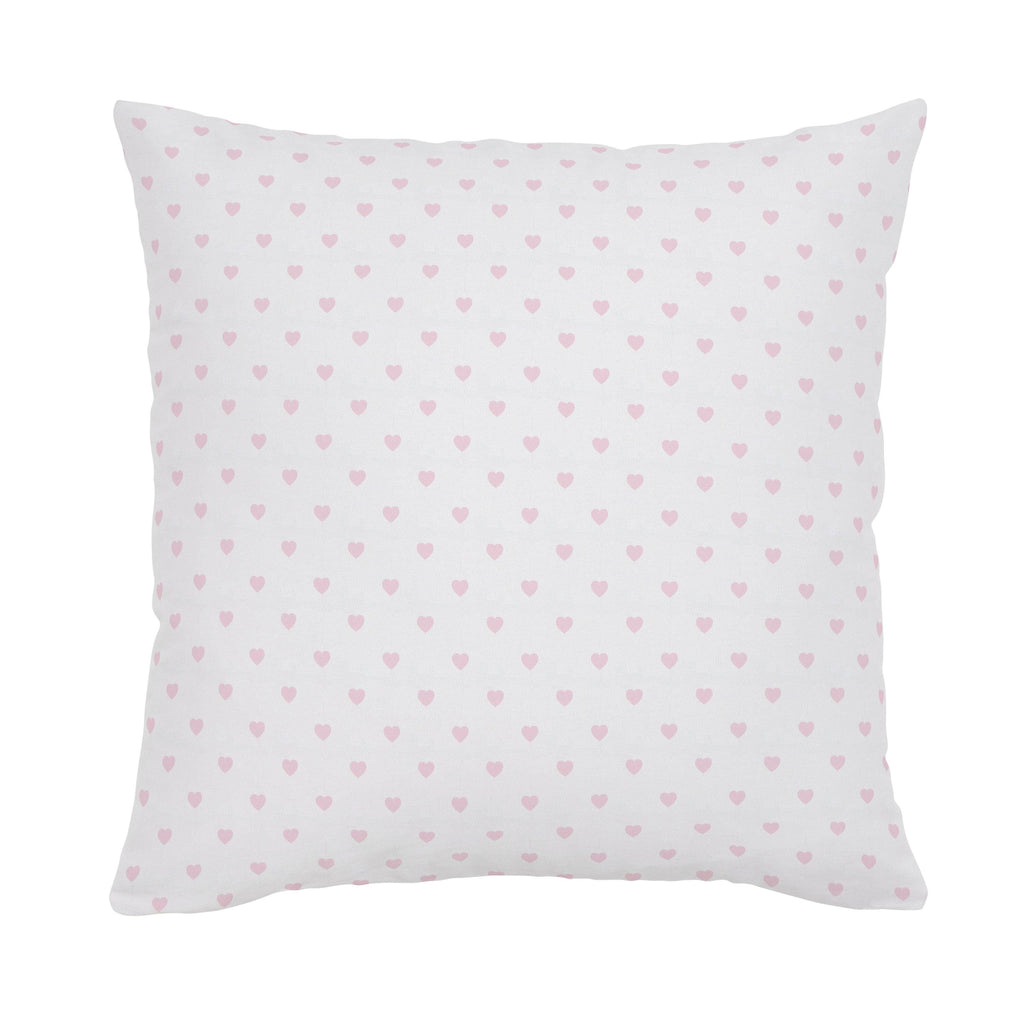 Product image for Pink Hearts Throw Pillow