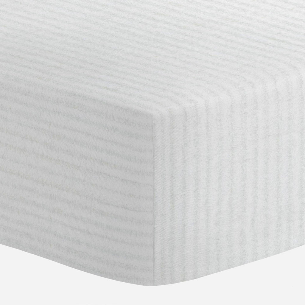 Product image for White Minky Chenille Crib Sheet