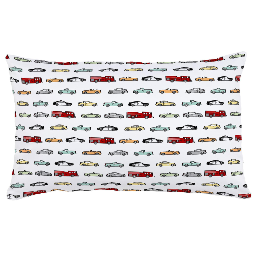 Product image for Modern Cars Lumbar Pillow