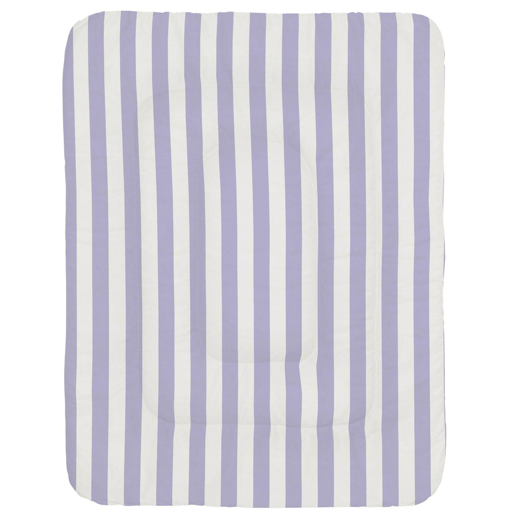 Product image for Lilac Stripe Crib Comforter