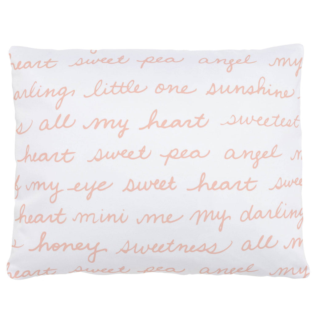 Product image for Peach Sweet Girl Accent Pillow