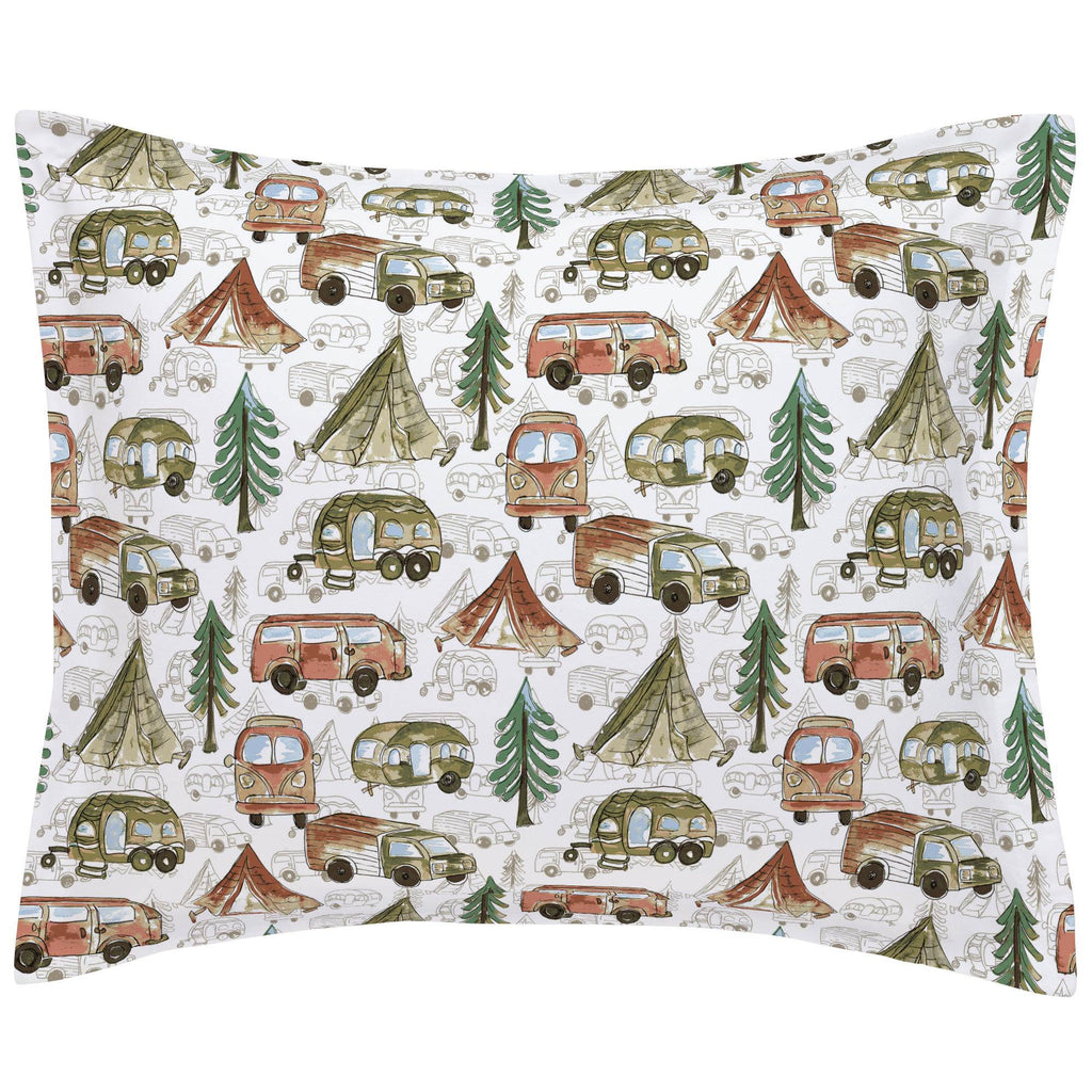 Product image for Gone Camping Pillow Sham