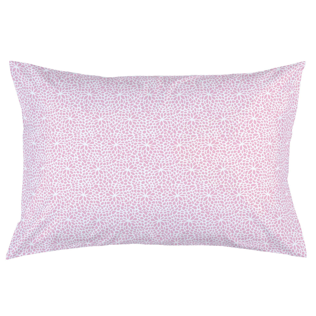 Product image for Bubblegum Pink Modern Mums Pillow Case