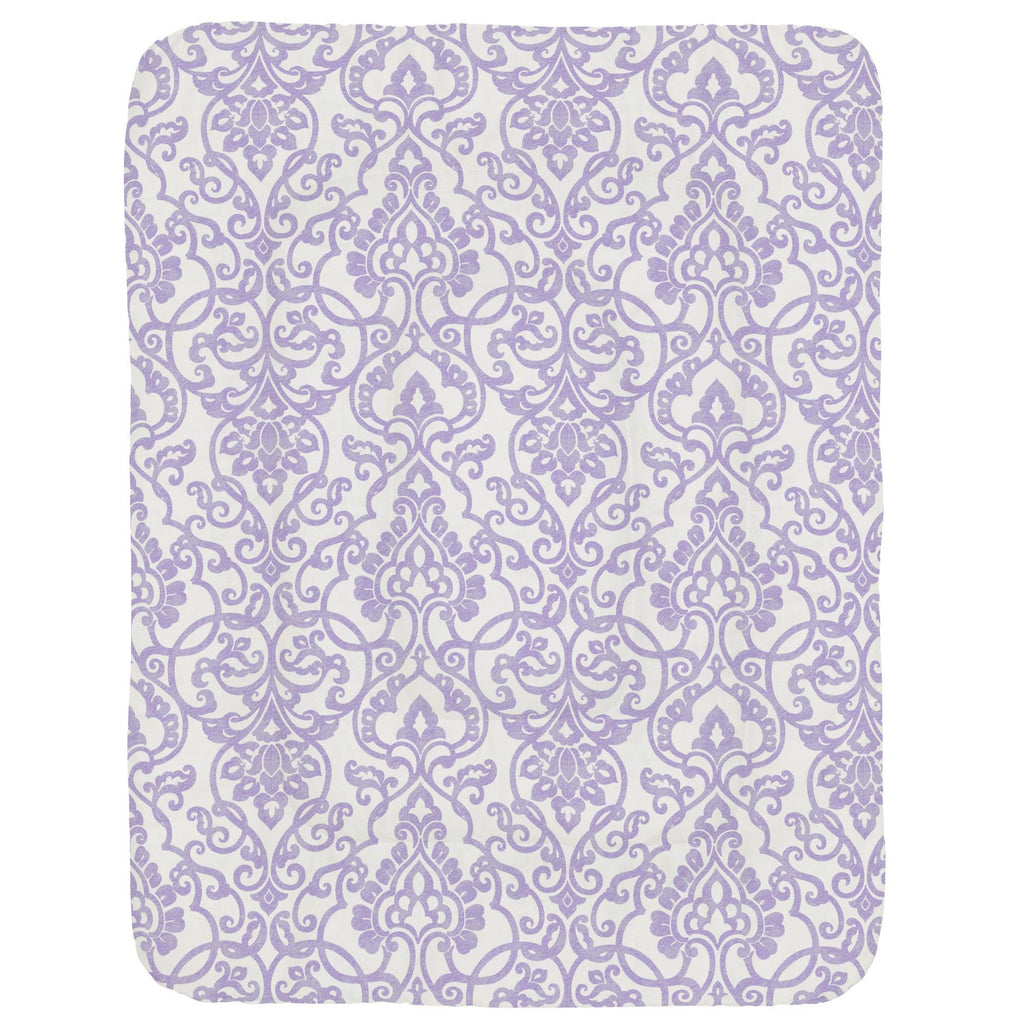Product image for Lilac Filigree Crib Comforter