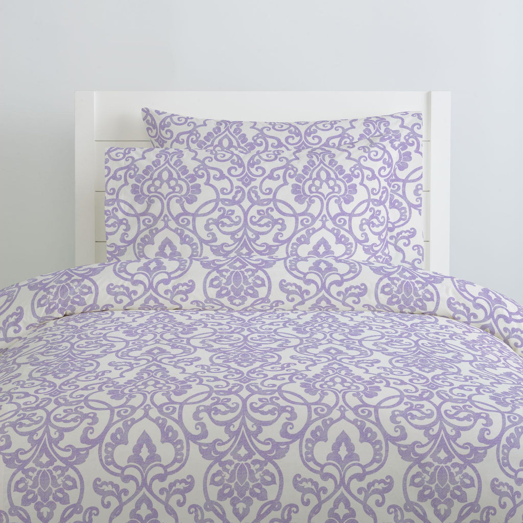 Product image for Lilac Filigree Duvet Cover