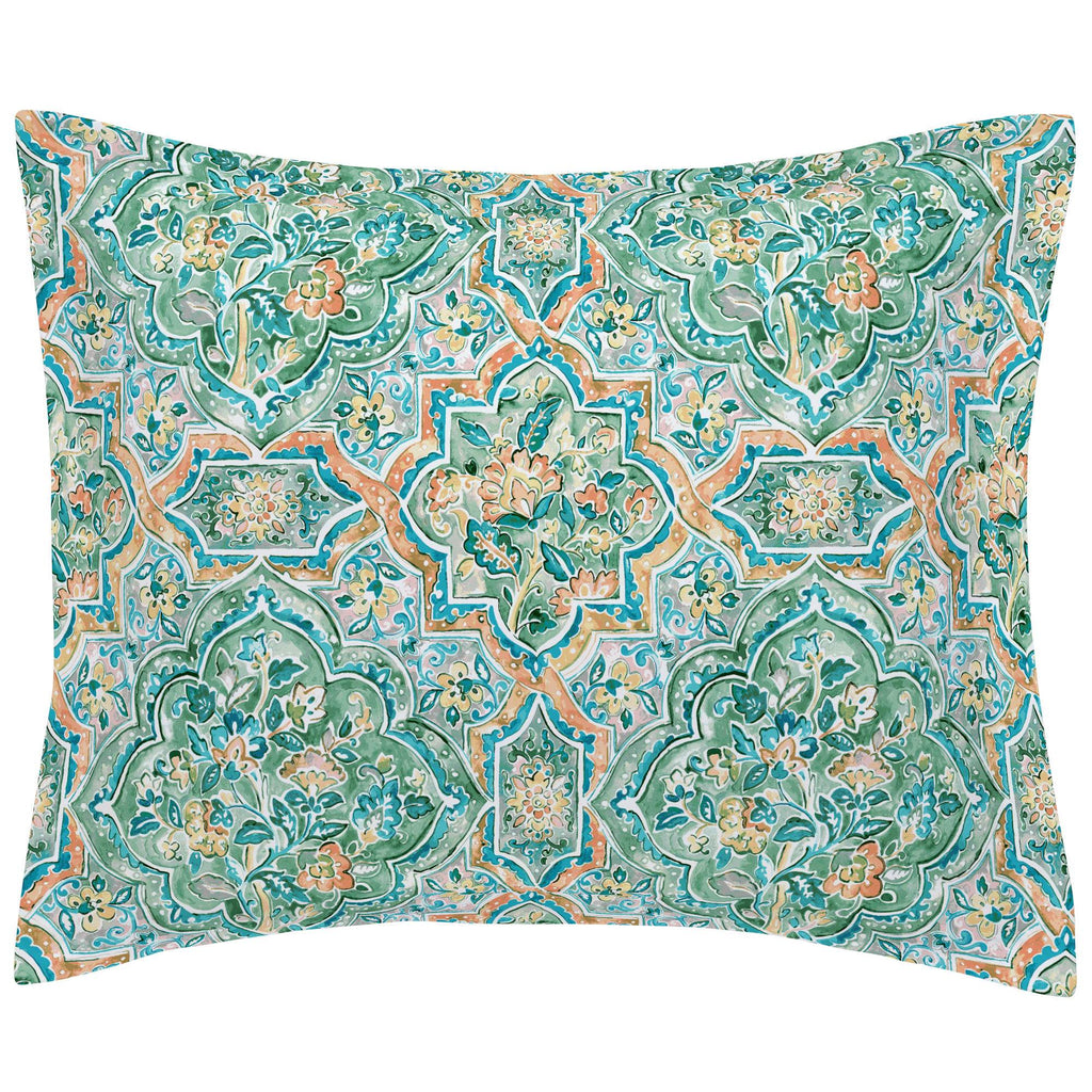 Product image for Watercolor Medallion Pillow Sham