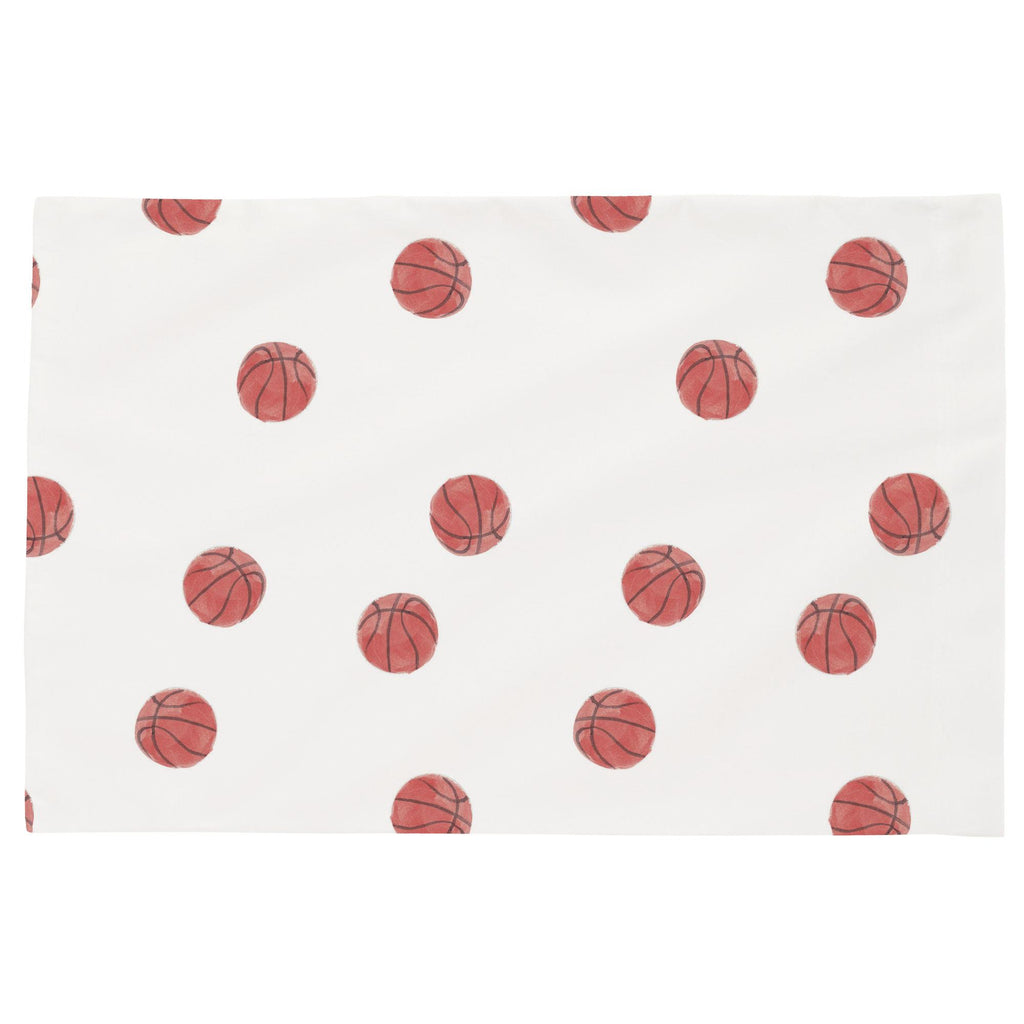 Product image for Watercolor Basketball Toddler Pillow Case
