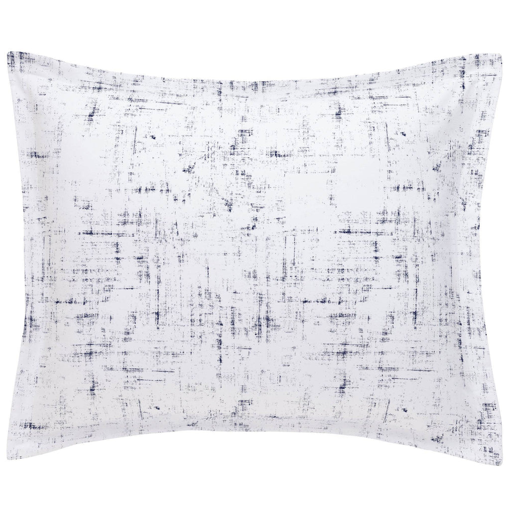 Product image for Navy Distressed Pillow Sham