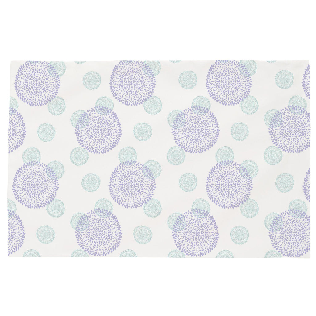 Product image for Lilac and Mist Dandelion Toddler Pillow Case