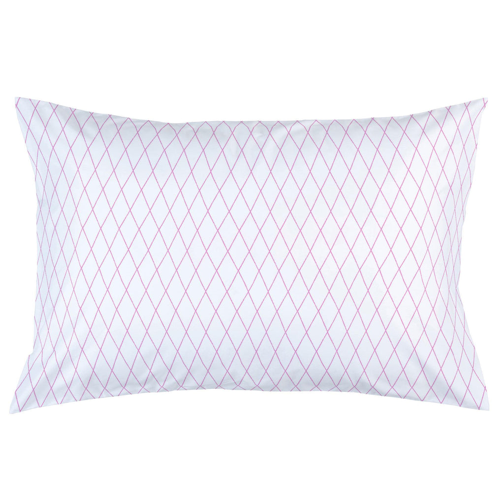 Product image for Hot Pink Princess Lattice Pillow Case