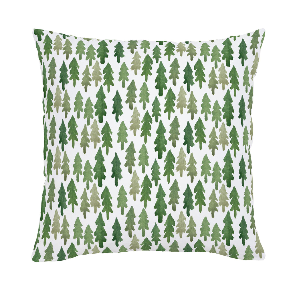 Product image for Evergreen Forest Throw Pillow