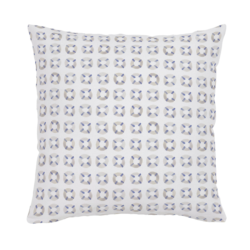 Product image for Watercolor Lifesavers Throw Pillow