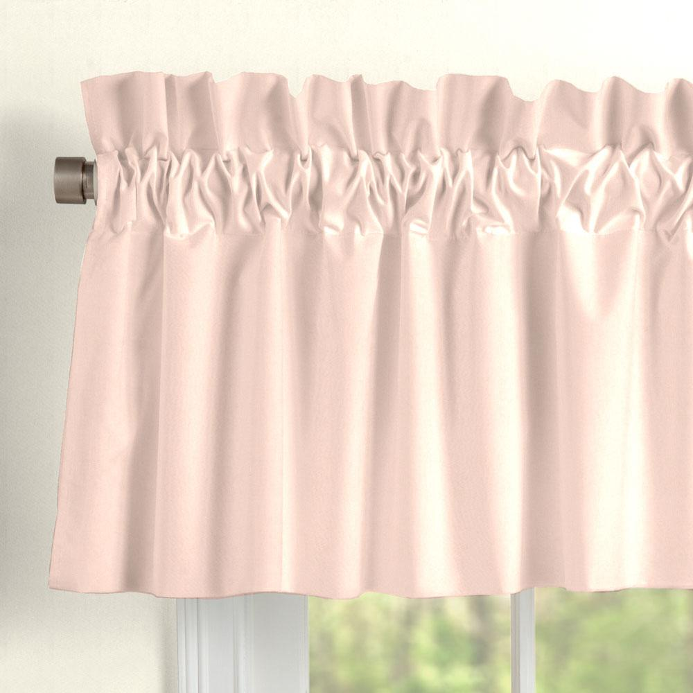 Product image for Solid Peach Window Valance