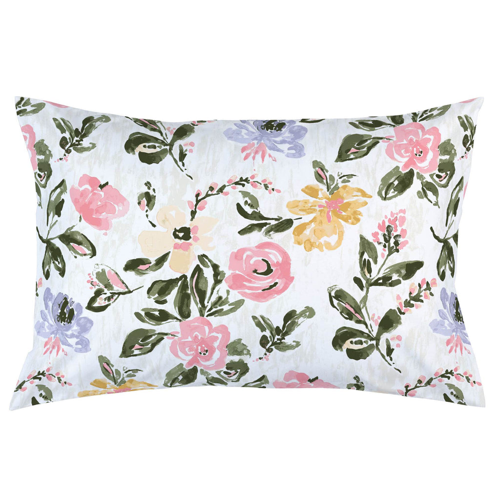 Product image for Coral Pink Garden Pillow Case