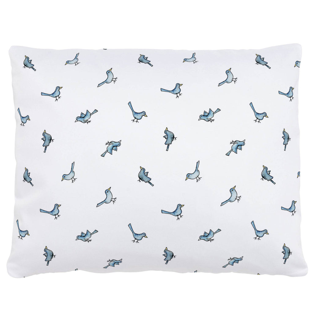 Product image for Blue Birds Accent Pillow
