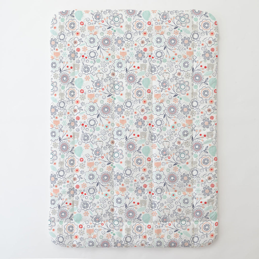 Product image for Coral Spring Doodles Toddler Comforter