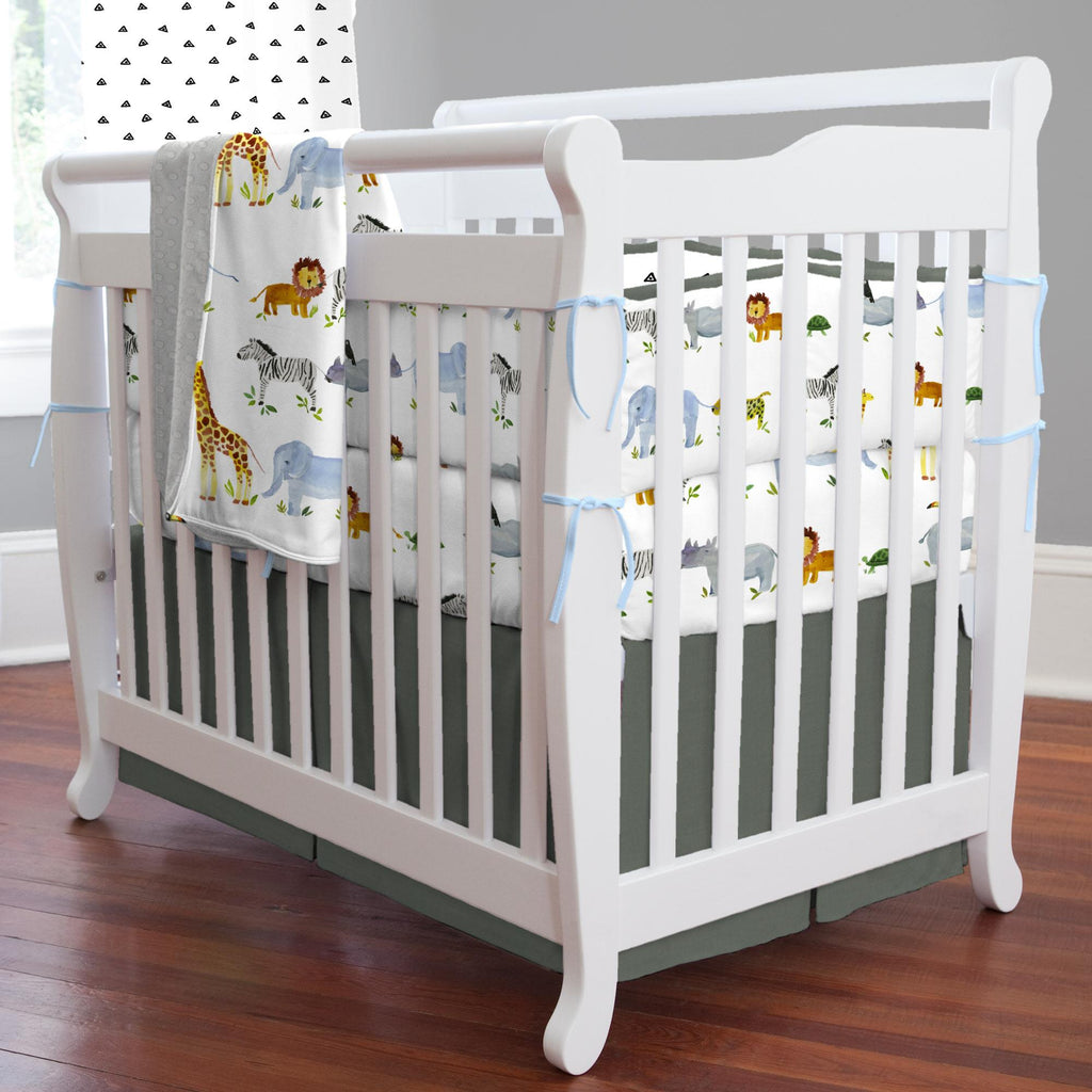 Product image for Painted Zoo Mini Crib Bumper