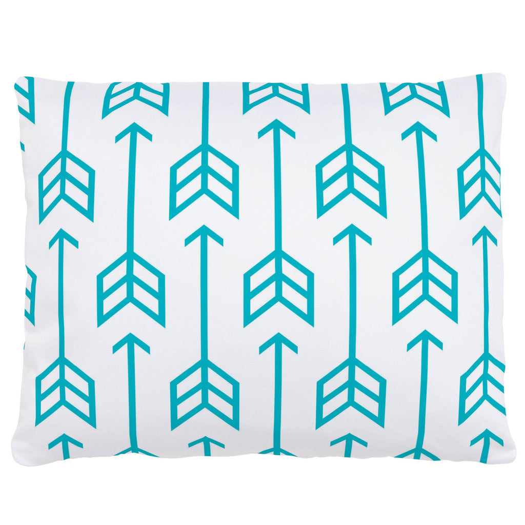 Product image for Teal Arrow Accent Pillow