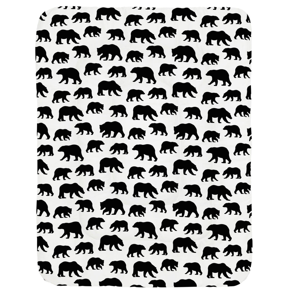Product image for Onyx Bears Crib Comforter