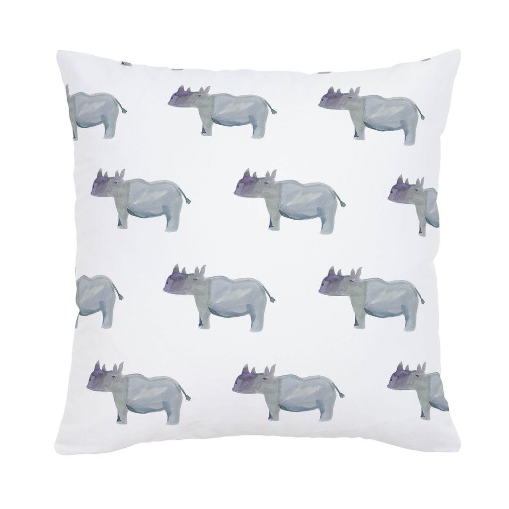 Product image for Painted Rhino Throw Pillow