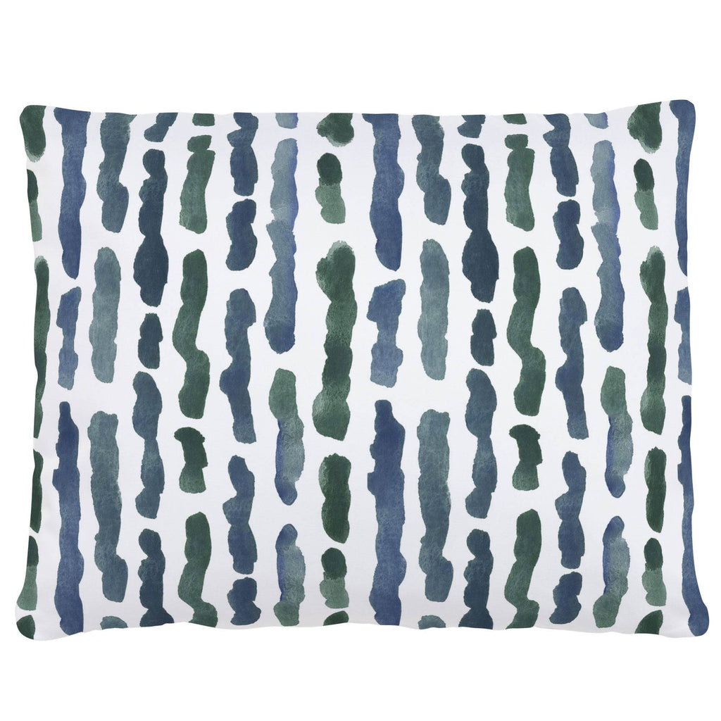 Product image for Sea Green Stripe Accent Pillow