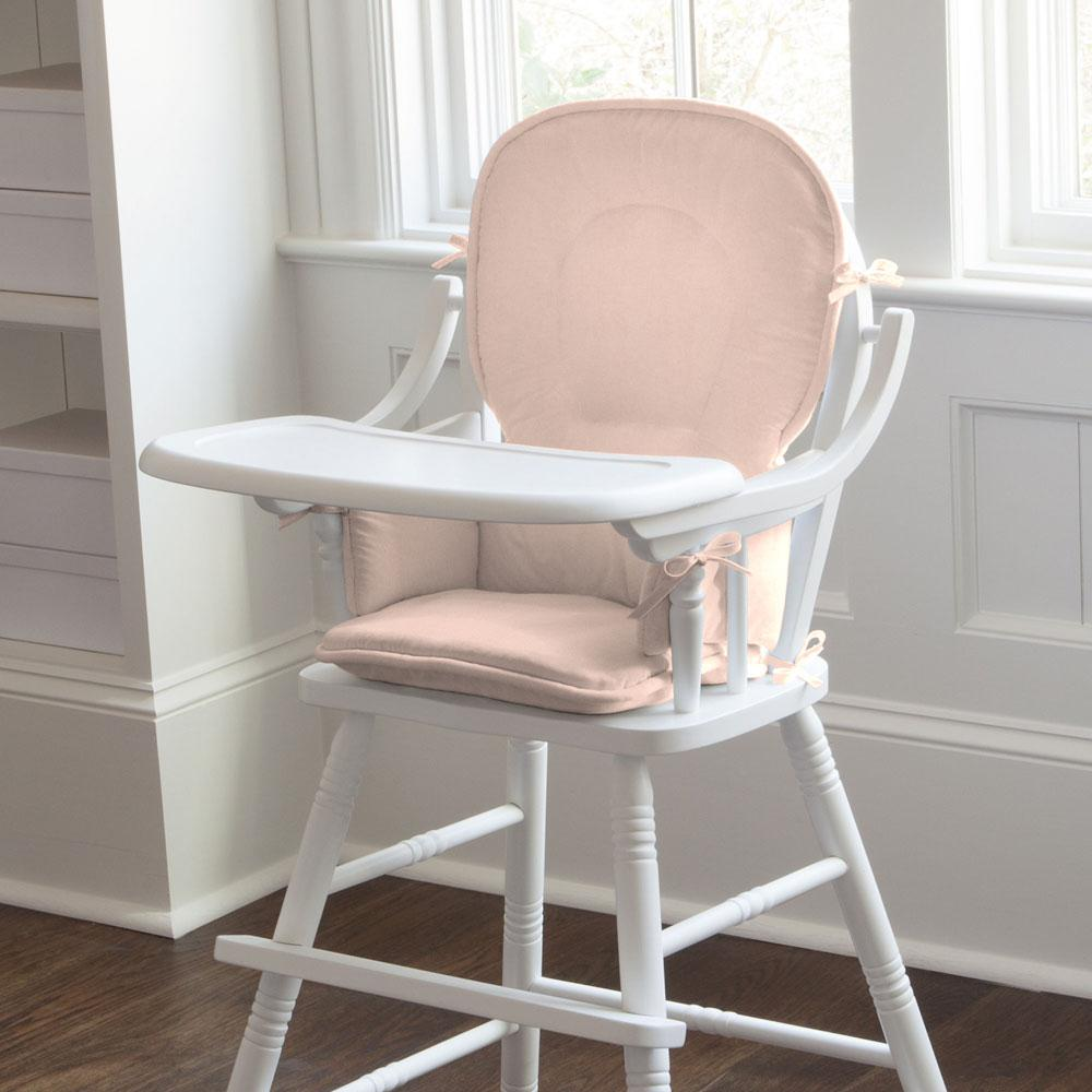 Product image for Solid Peach High Chair Pad