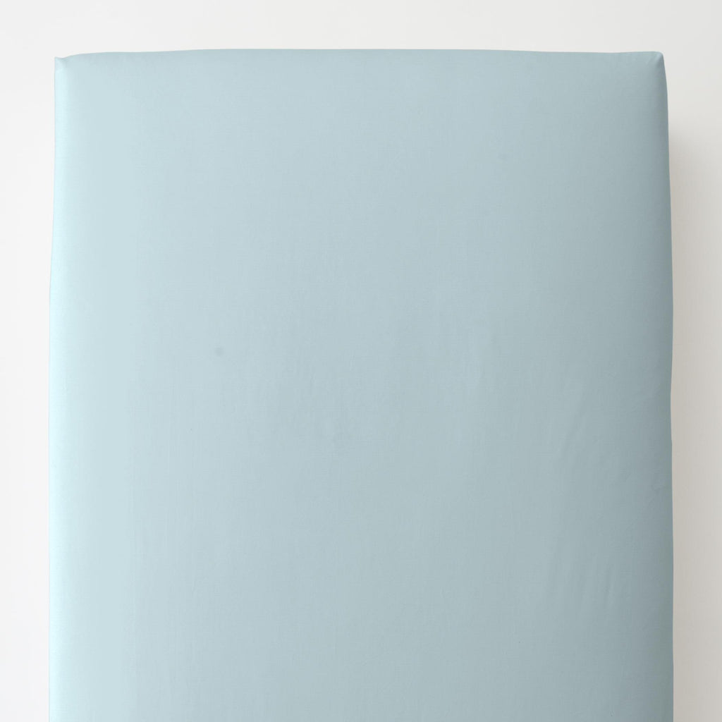 Product image for Solid Mist Toddler Sheet Bottom Fitted