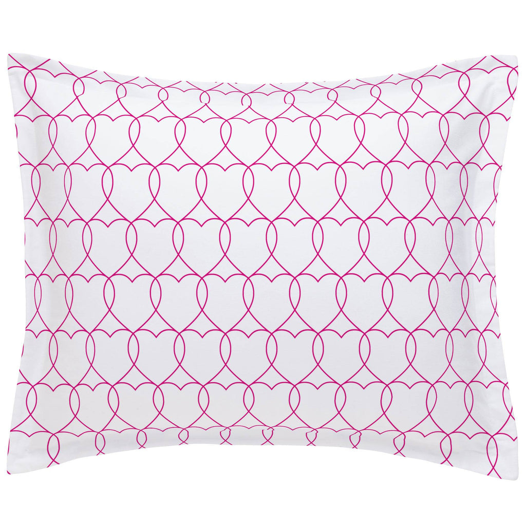 Product image for Fuchsia Sweetheart Pillow Sham