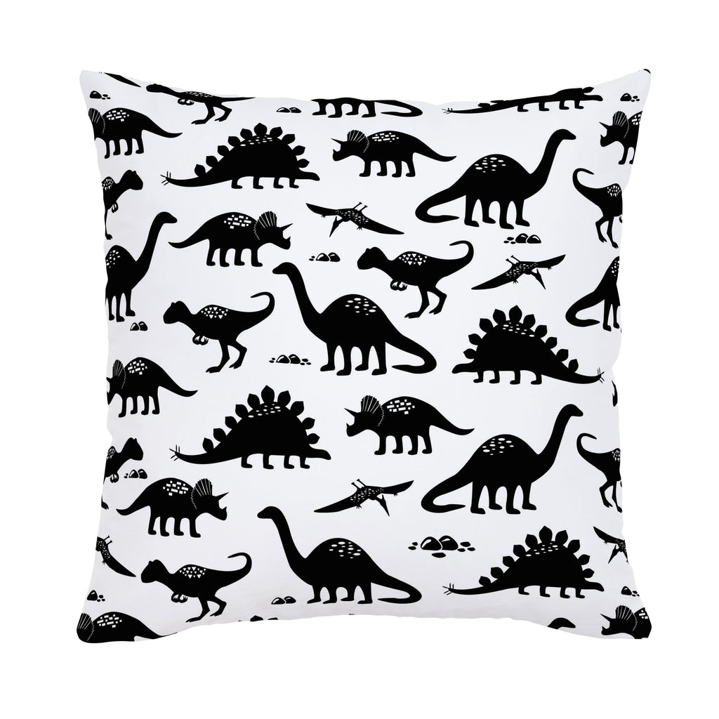 Product image for Onyx Dinosaurs Throw Pillow