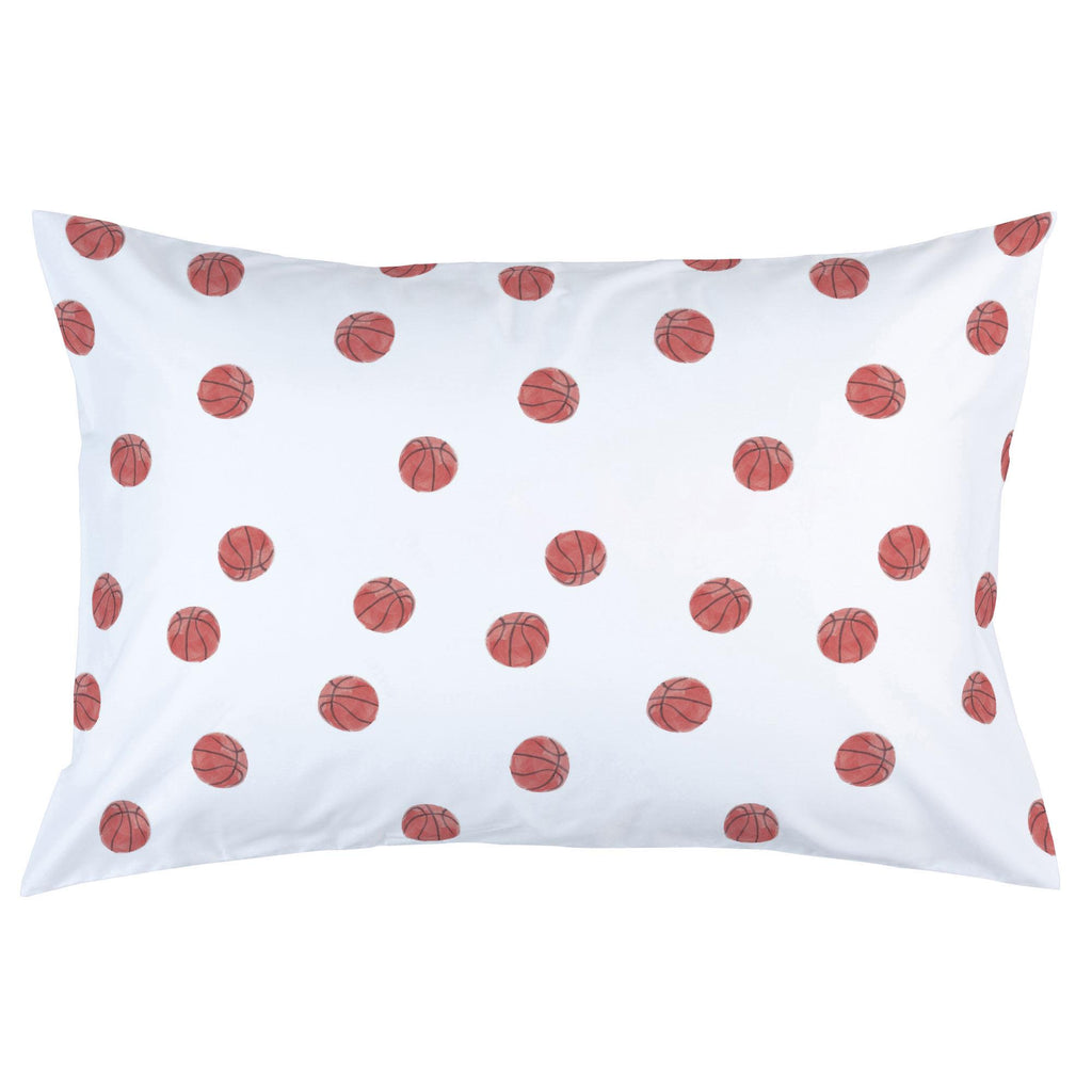Product image for Watercolor Basketball Pillow Case