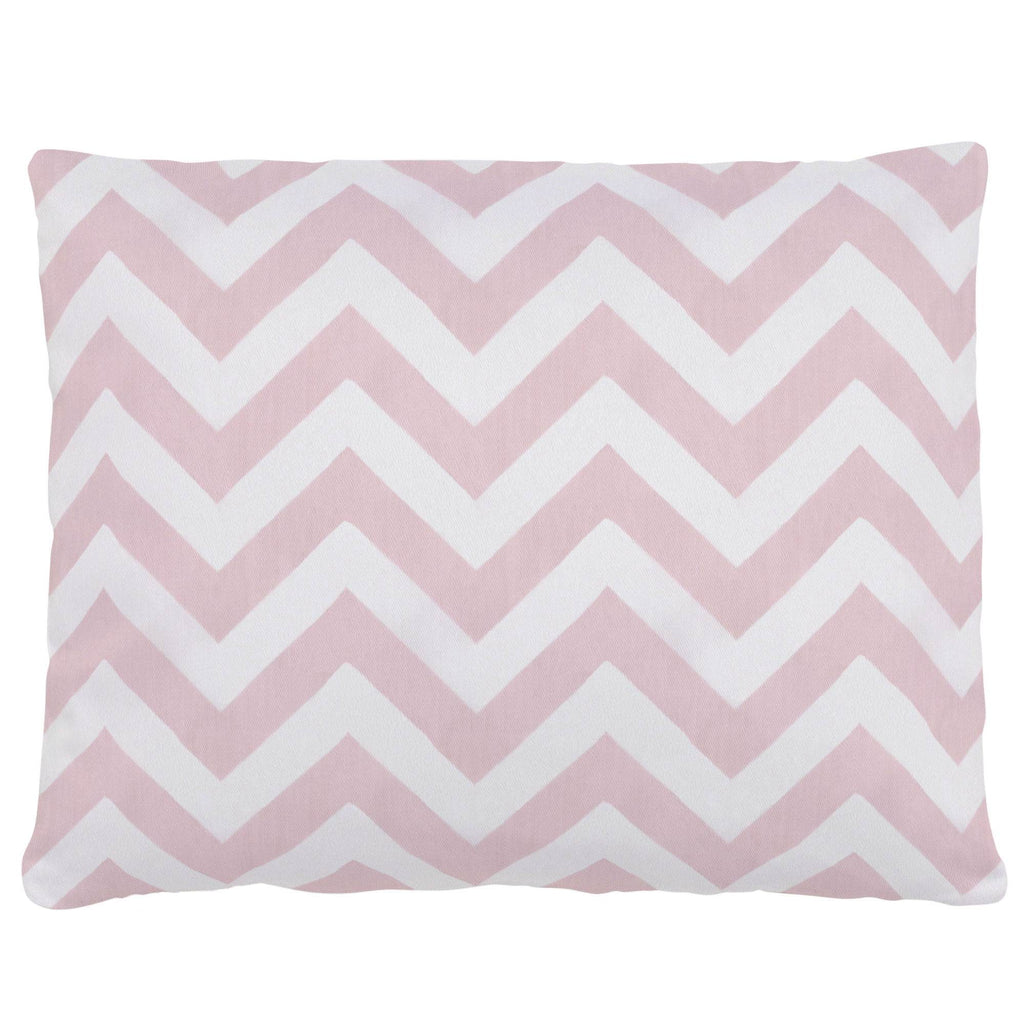 Product image for Pink Zig Zag Accent Pillow