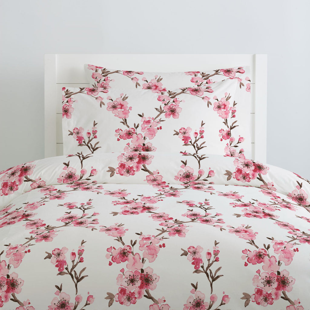Product image for Pink Cherry Blossom Duvet Cover