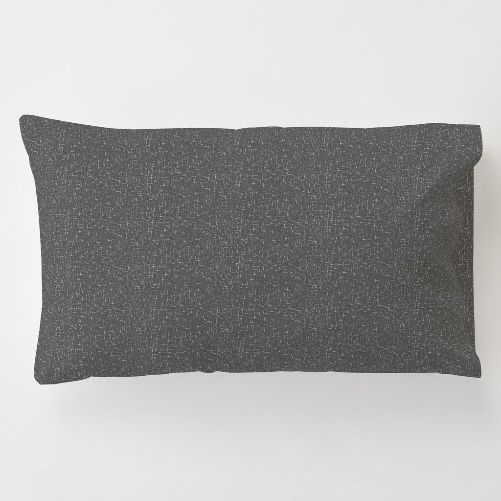 Product image for Dark Gray Heather Toddler Pillow Case with Pillow Insert