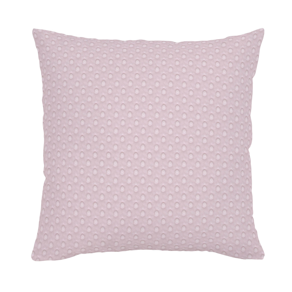 Product image for Pink Dimpled Minky Throw Pillow