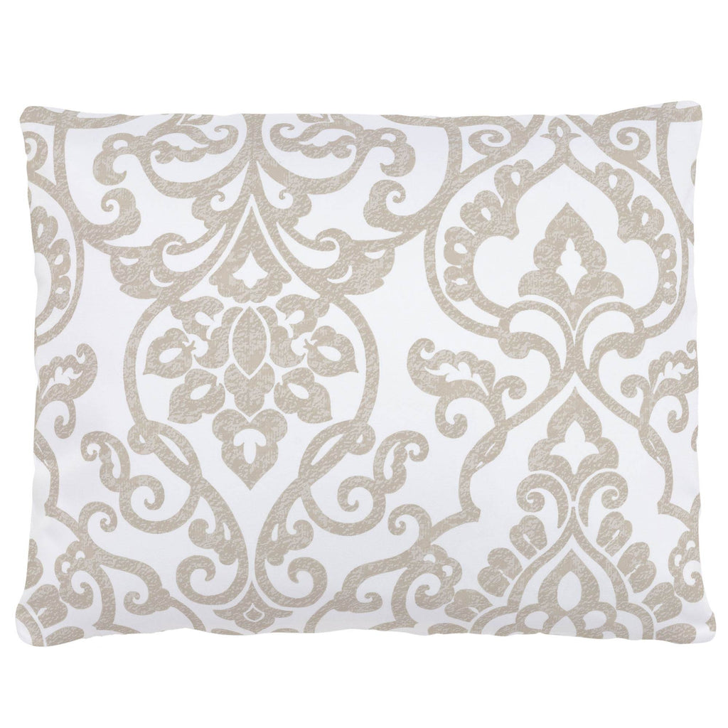 Product image for Taupe Filigree Accent Pillow