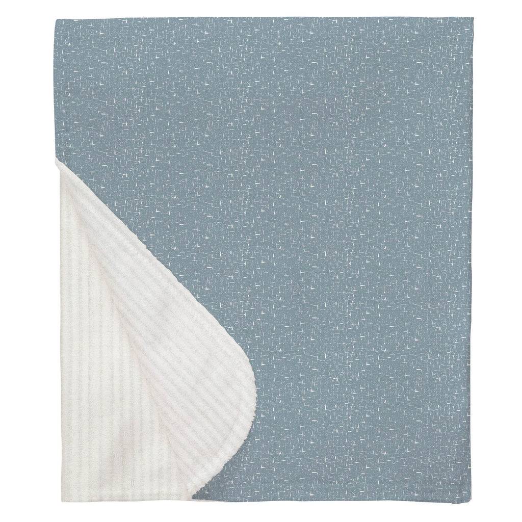 Product image for Steel Blue Heather Baby Blanket